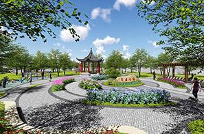 石排镇水贝村园林景观设计方案