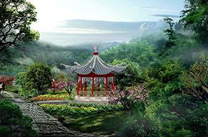 香山公园(大愿寺)景观设计