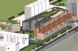 愉景威尼斯商业广场改造规划设计