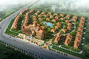 御水碧园温泉住宅小区规划设计