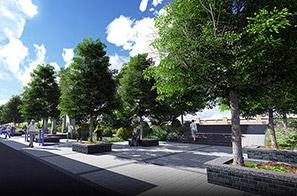 梅沙村东一区绿道旁空地规划设计