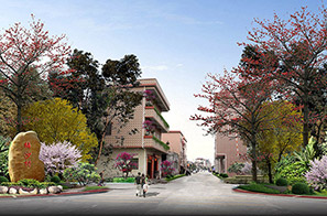 东莞市洪梅镇某村庄塑造工程项目整体规划