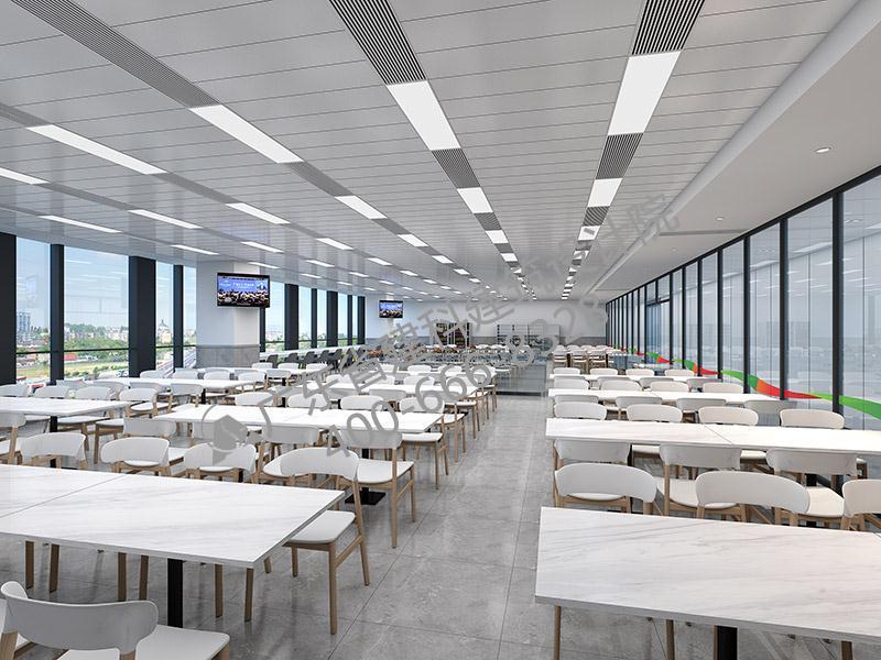 公司员工餐厅饭堂设计