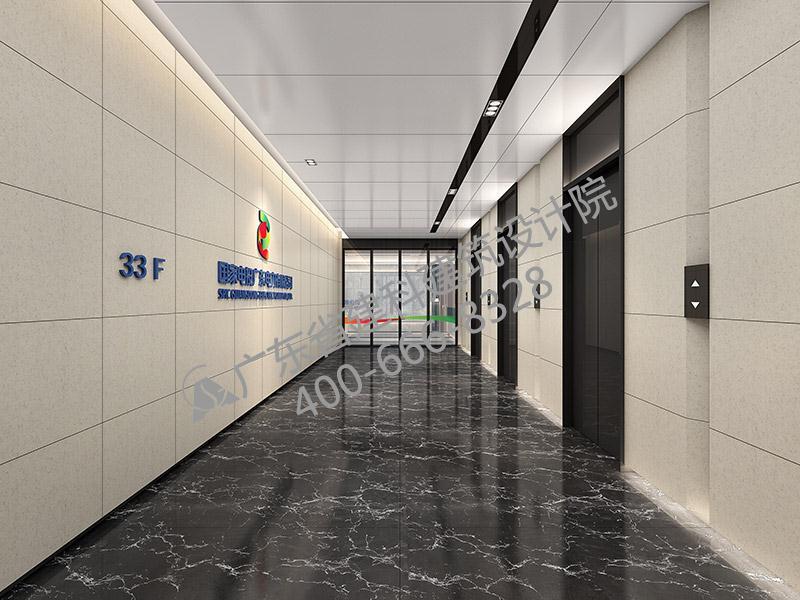 办公楼电梯间设计