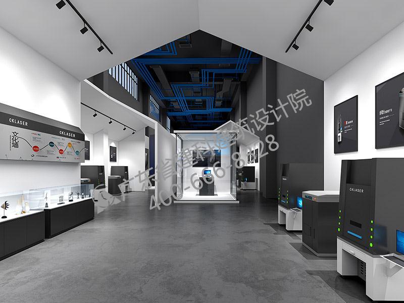 激光公司展厅