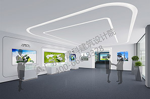 环保公司展厅