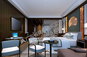 酒店标准单人间设计