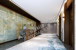 酒店电梯厅设计