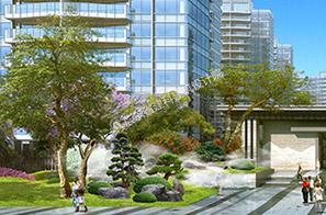 珠海崇峰壹号院景观设计