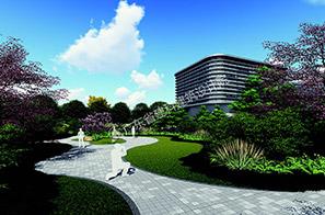环保公司厂区景观设计
